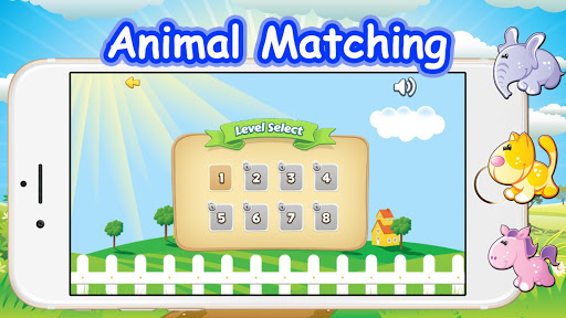 Animal Matching image Game - screenshot