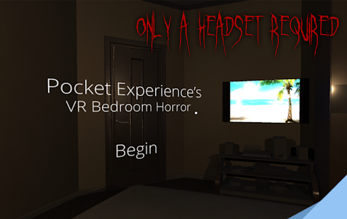 VR Bedroom Horror- screenshot thumbnail