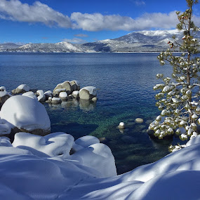 North Shore, Lake Tahoe by Dan Larsen - Landscapes Waterscapes (  )