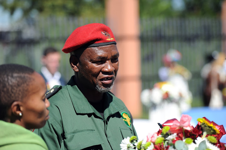 Former political prisoner Kenny Mostamai during the Sharpeville massacre commemoration on March 21 2017 in Sharpeville, South Africa.