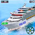 US Police Cruise Ship Driving Simulator icon