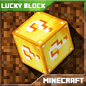 Lucky Block Mod for Mine Craft PE icon