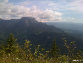 Photo: Looking west while climbing Hamilton Mtn.
