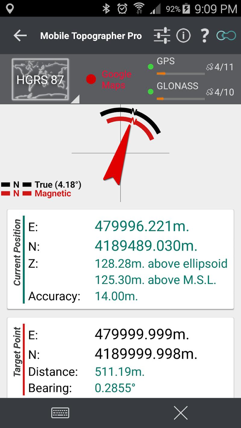 Mobile Topographer Pro Screenshot 8