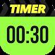 Runtastic Timer タバタ式タイマー