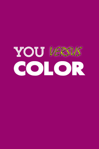 You vs Color