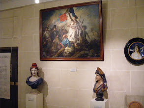 """Photo: Marianne is the embodiment of the French Republic, representing the enduring values of her citizens': """"Liberty, Equality, Fraternity"""". Marianne has become the most widely shared representation of France - at times intense and warlike, at times peaceful and nurturing. There is no single policy for the representation of Marianne, which has inspired more than 100 models, including celebrities such as Brigitte Bardot (1969), Catherine Deneuve (1985), Mireille Mathieu, Mireille Darc, Isabelle Adjani and most recently Laetitia Casta."""