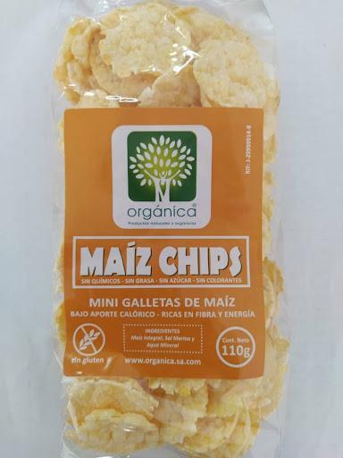 Chips De Maiz Sin Gluten 110G