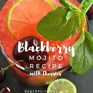 Cherry Blackberry Mojito