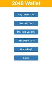 2048 Wallet - náhled