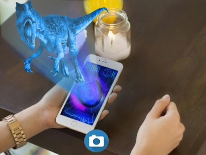 Hologram Dinosaur simulator Camera 3D - náhled