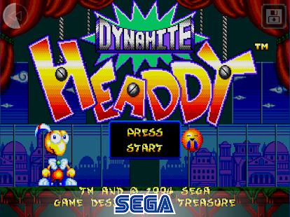 Dynamite Headdy Screenshot