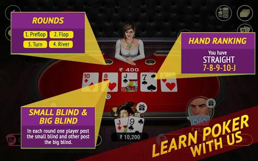 Poker Live! 3D Texas Hold'em 1.9.0 screenshots 2