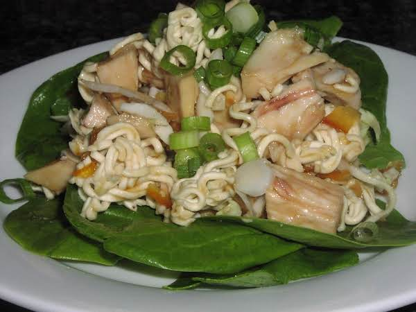 Orange Chicken Coleslaw Salad Recipe