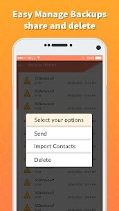 Easy Contacts Backup & Restore – Export Contacts App Download For Android 4