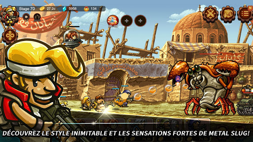 Metal Slug Infinity : Idle Game  captures d'u00e9cran 1