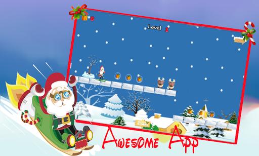 無料动作AppのSanta Crazy Ski - christmas -|記事Game