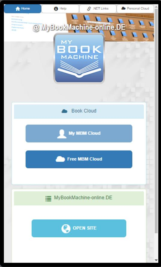 My Book Machine Player- screenshot