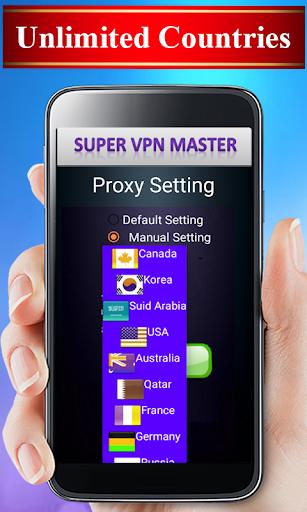 Super VPN Unlimited Free Unblock Website Proxy 1.3 screenshots 2