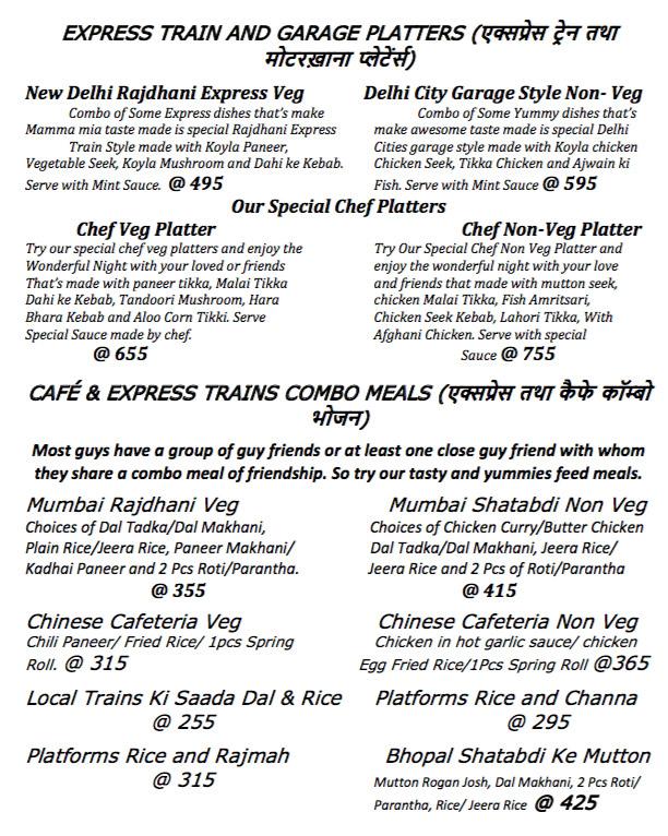 Hunter Valley menu 5