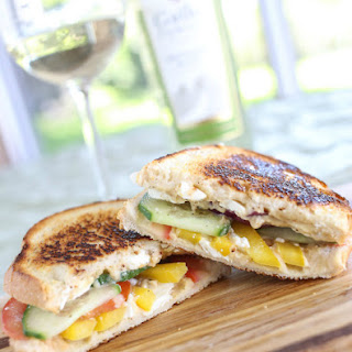 Greek Salad Grilled Cheese