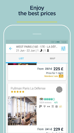 AccorHotels - Hotel booking 7.4 screenshots 3
