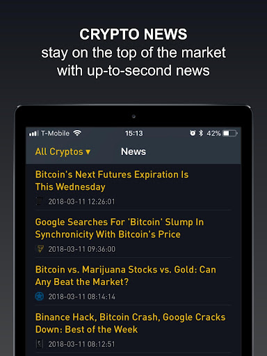 Crypto Tracker by BitScreener  screenshots 14