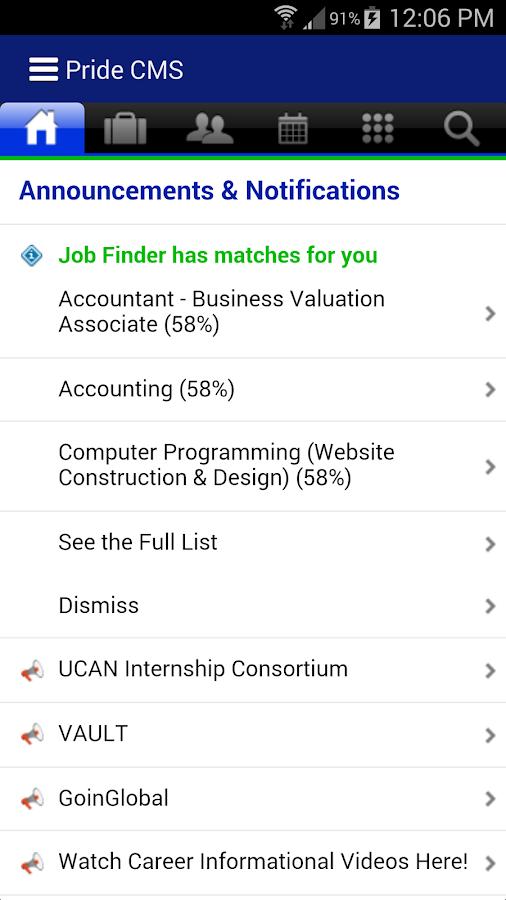 Hofstra University- screenshot