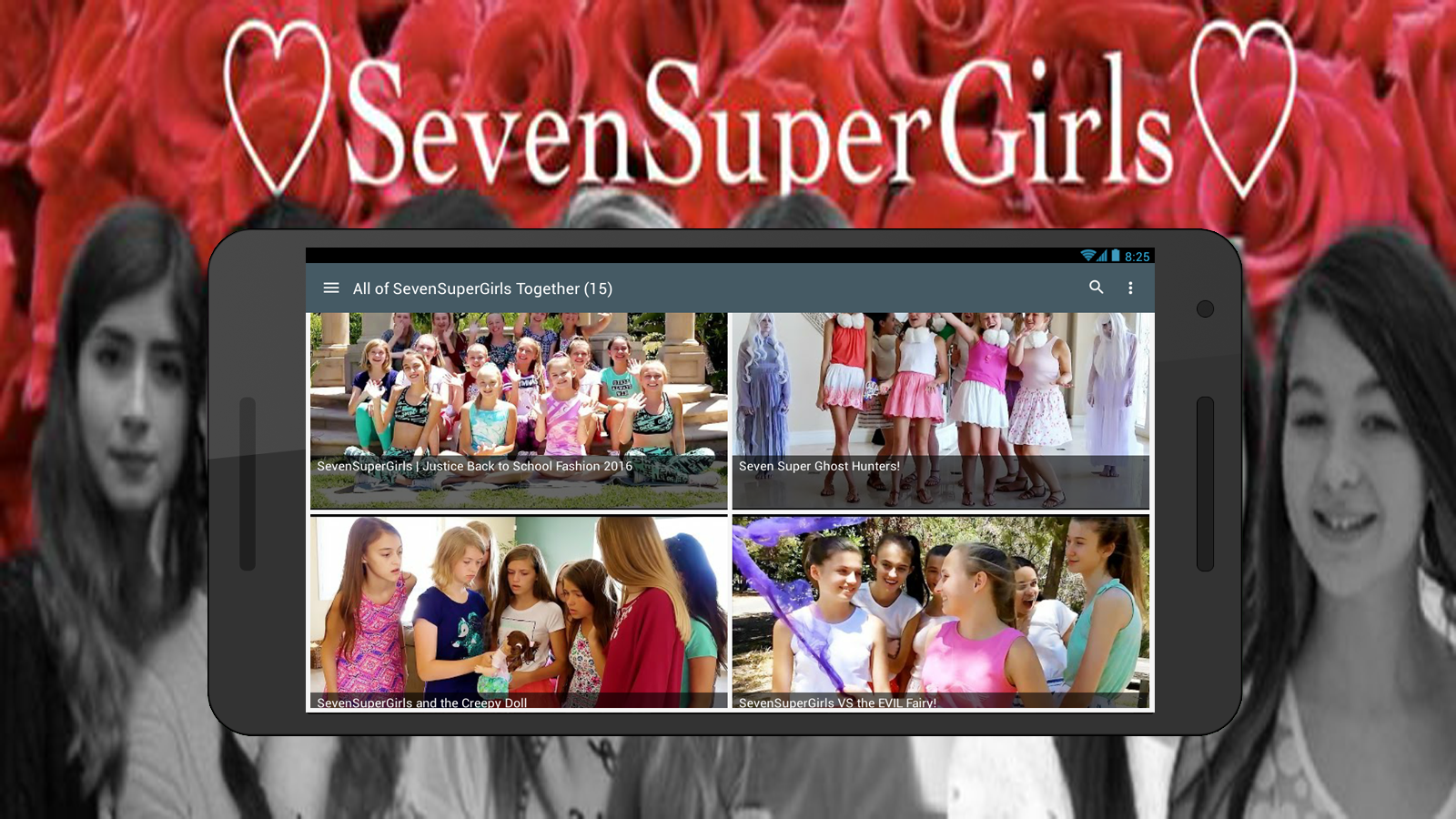 Kaelyn from ssg phone number - Seven Super Girls Screenshot