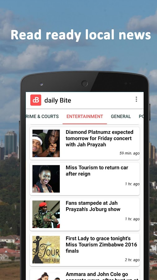 daily Bite: Read Ready News- screenshot