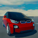 Electric Car Driver icon