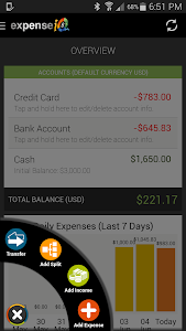 Expense IQ - Expense Manager v1.0.9 build 63 (Gold)