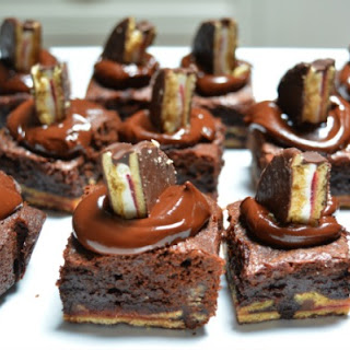 Wagon Wheel Brownies