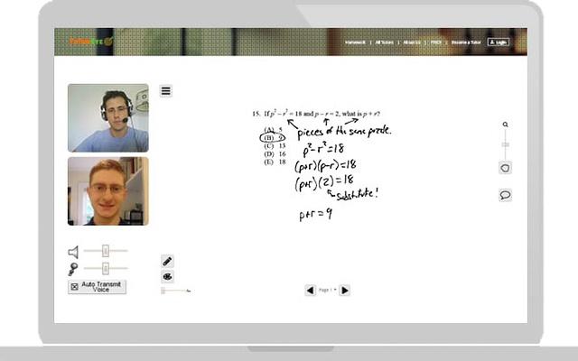 TutorEye screen sharing extension