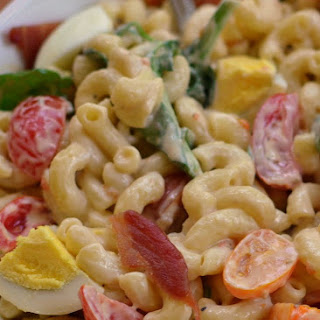 Bacon Egg Lettuce Tomato Pasta Recipe