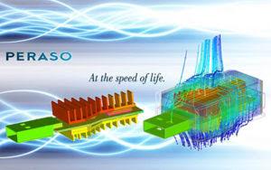 В компании Peraso Technology использовали ANSYS для улучшения теплоотвода и оптимизации корпуса компактного USB-устройства, при этом удалось снизить максимальную температуру на 20 процентов.