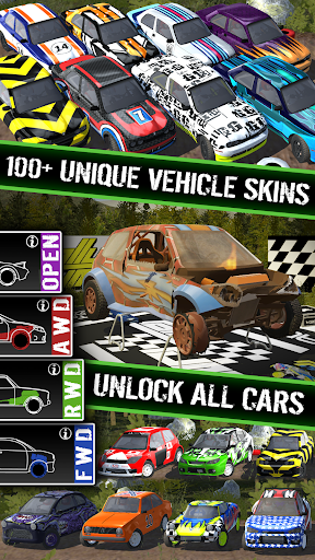 Code Triche Rally Runner - Endless Racing APK MOD screenshots 1