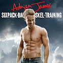 Adrian James Sixpack-Bauchmuskel-Training icon