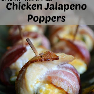 Bacon Wrapped Chicken Jalapeno Poppers.