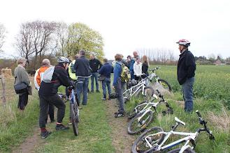 Photo: De forsamlede cyklister i Fløjstrup