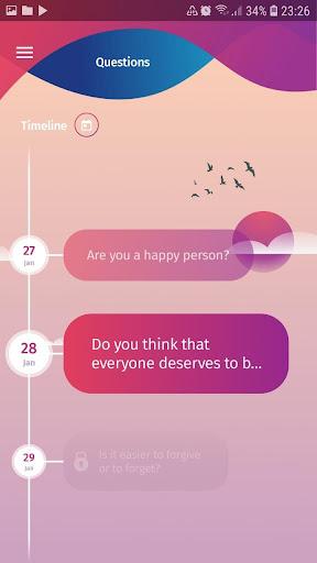 Mood Tracker, Journal, Diary | Anti Depression app screenshots 8