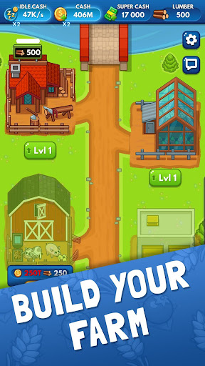 Idle Farm Tycoon - Merge Simulator screenshots 2