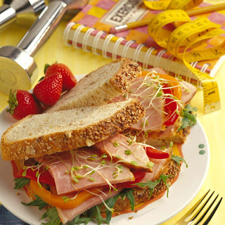 California Club Ham Sandwich Recipe