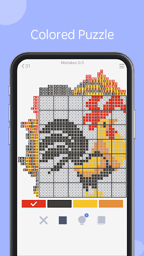 Nonogram - picture cross puzzle game filehippodl screenshot 9