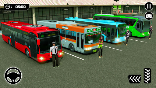 City Passenger Coach Bus Simulator screenshot 15