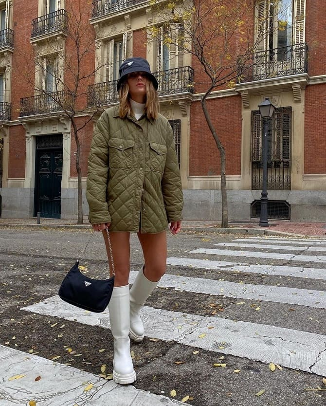 Fashionable quilted jackets 11