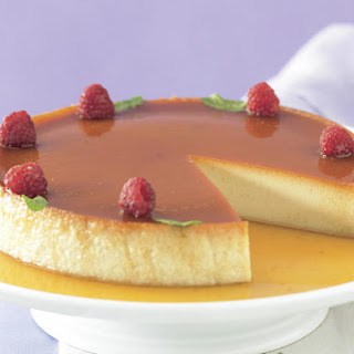 Baked Coconut Custard