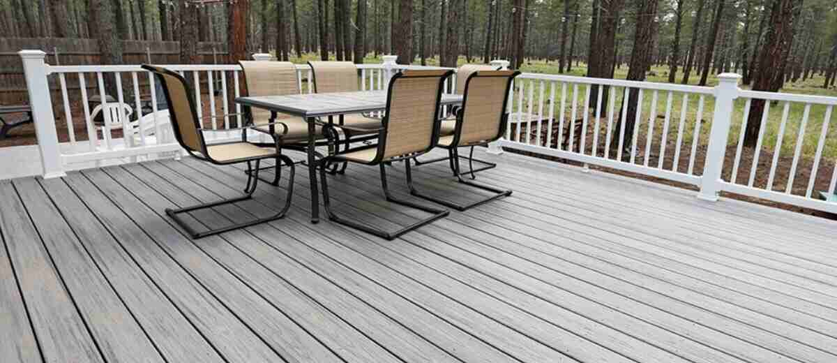keep decking cool in summer