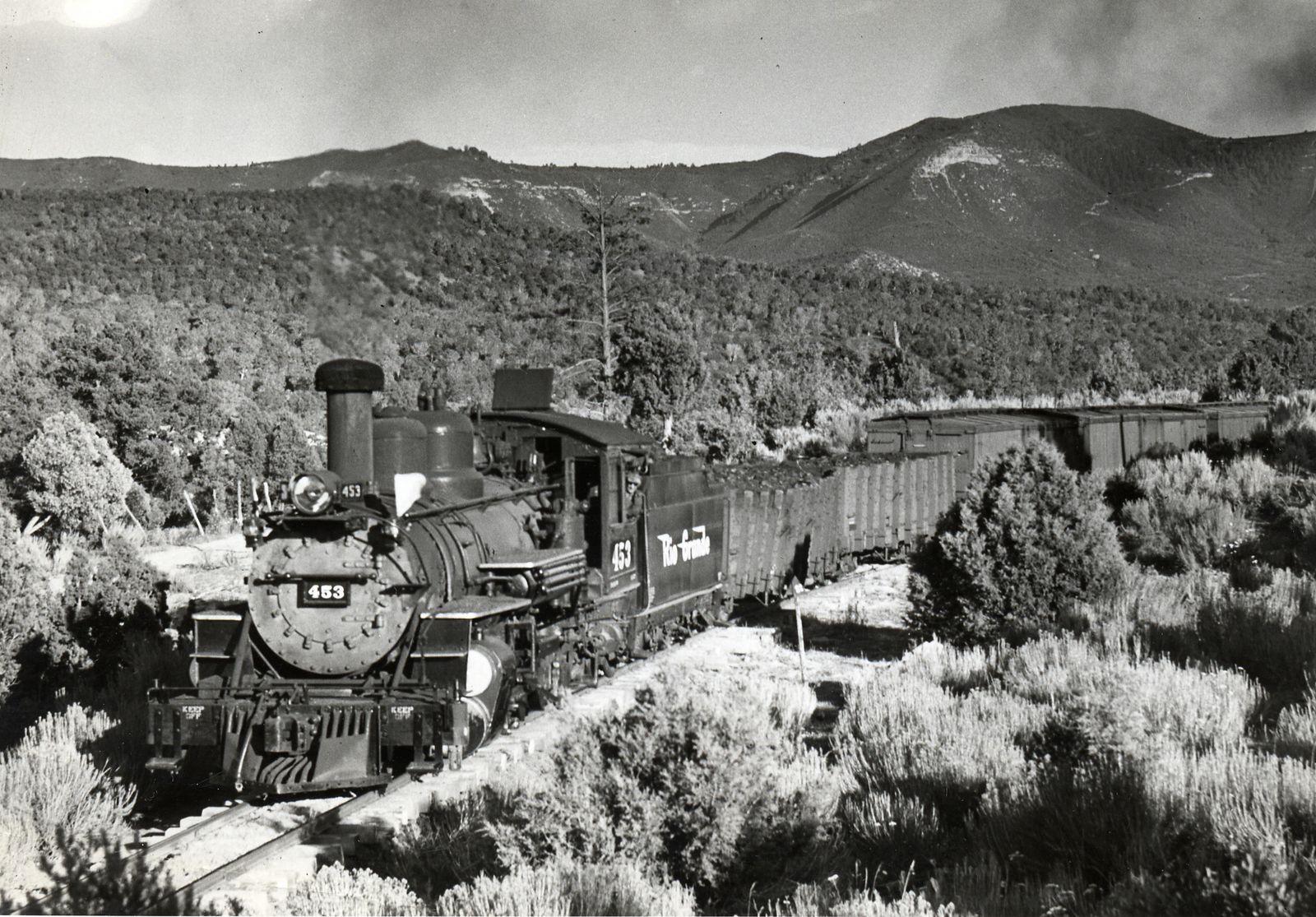 Photo: #453 mile post 120.5 August 1941