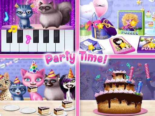 Cat Hair Salon Birthday Party - Virtual Kitty Care 6.0.20 screenshots 23